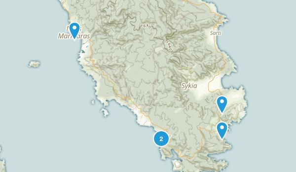 Central Macedonia / Κεντρική Μακεδονία, Greece Wildlife Map