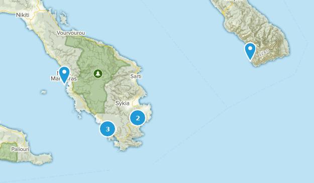 Central Macedonia, Greece Birding Map