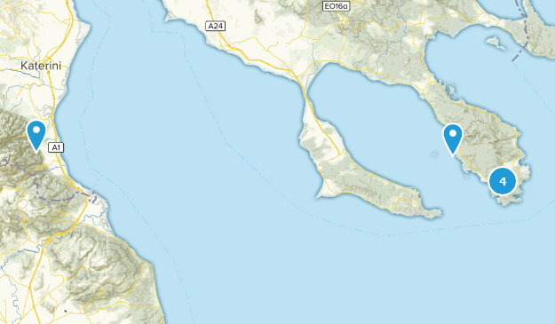 Central Macedonia, Greece Wildlife Map
