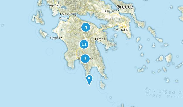Griechenland Peloponnes Karte Deutsch.Die Besten Wanderwege In Peloponnese Griechenland Alltrails