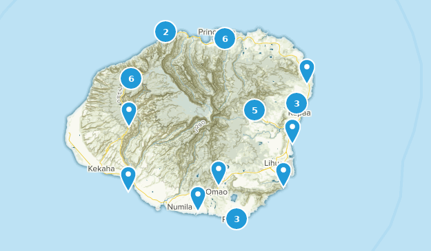 photograph relating to Printable Map of Kauai named Ideal Canines Upon Leash Trails inside Kauai Hawaii AllTrails