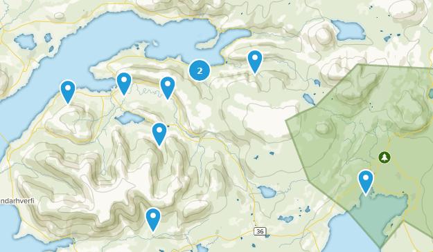 Höfuðborgarsvæði, Iceland Nature Trips Map