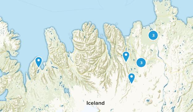 Northeastern, Iceland Kid Friendly Map