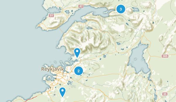 Reykjavík, Iceland Views Map