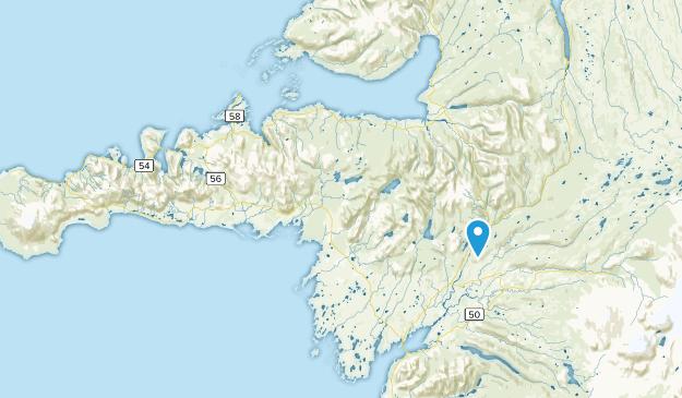 Vesturland, Iceland Parks Map