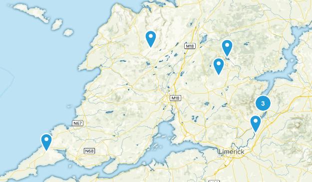 Clare, Ireland Kid Friendly Map