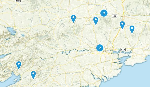 Cork, Ireland Trail Running Map