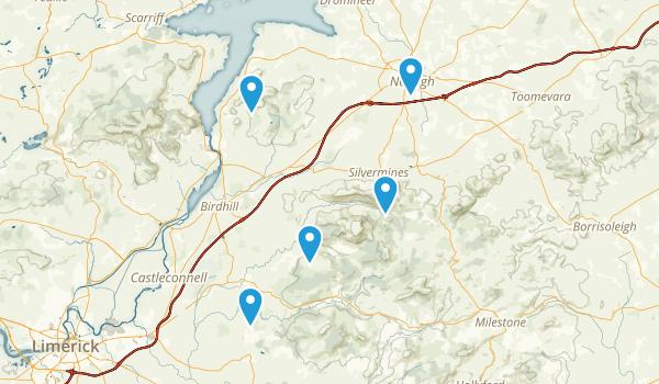 North Tipperary, Ireland Kid Friendly Map