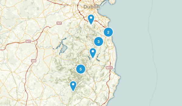 Wicklow, Ireland Hiking Map