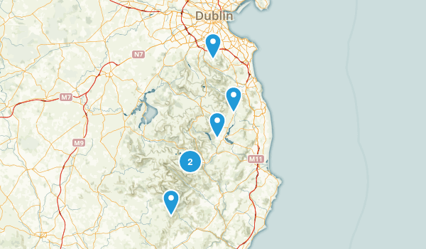 Wicklow, Ireland Nature Trips Map