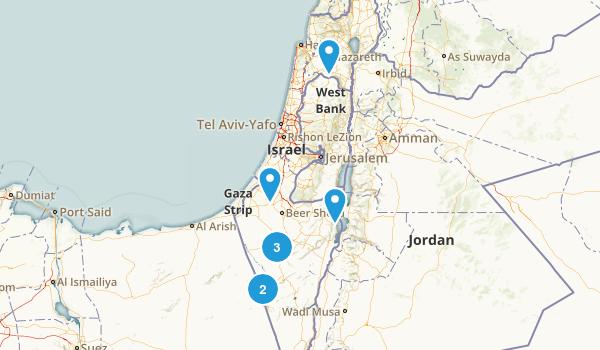 HaDarom, Israel Birding Map