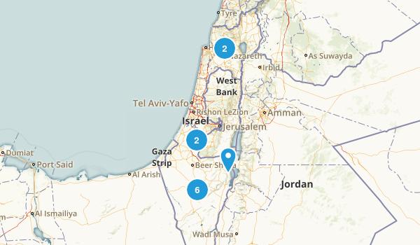HaDarom, Israel Trail Running Map