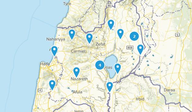 HaZafon, Israel Views Map