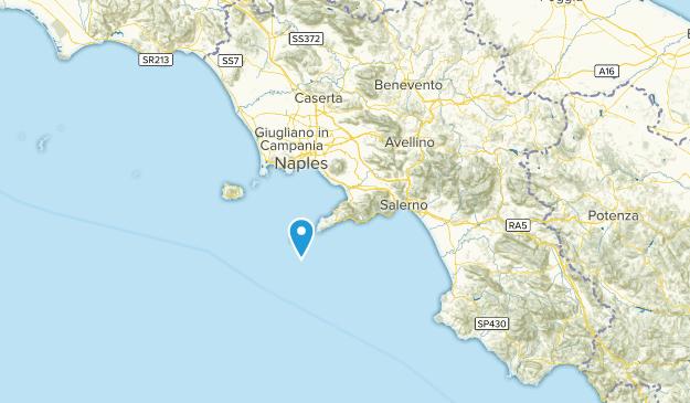 Campania, Italy Local Parks Map