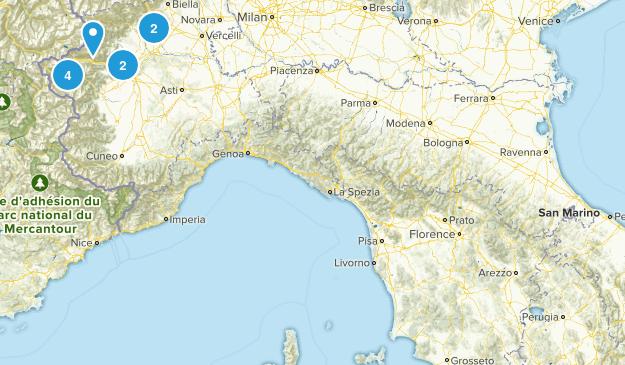 Umbria, Italy Walking Map
