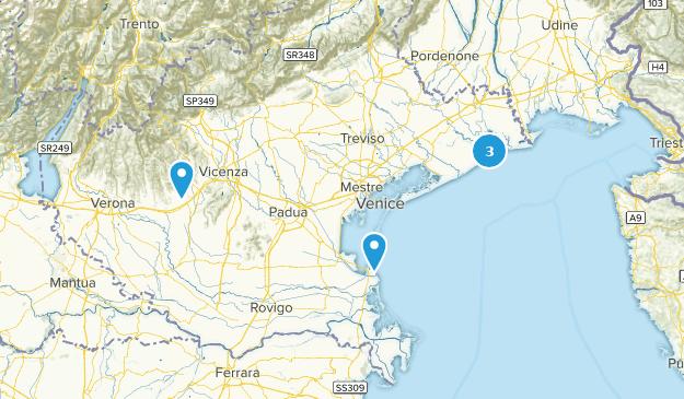 Veneto, Italy Trail Running Map