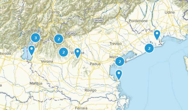 Veneto, Italy Views Map