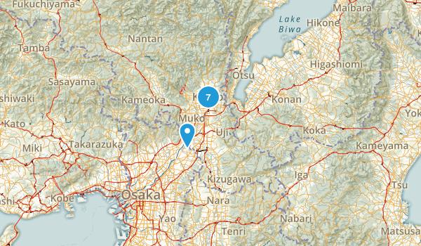 Kyoto, Japan Views Map