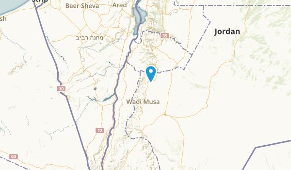 Ma`an, Jordan Parks Map