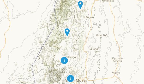 Ma`an, Jordan Views Map