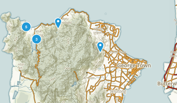 Pulau Pinang, Malaysia Birding Map