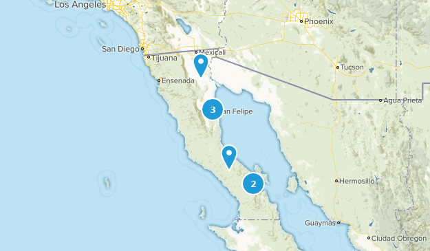 Map Of California Mexico.Best Off Road Driving Trails In Baja California Mexico Alltrails