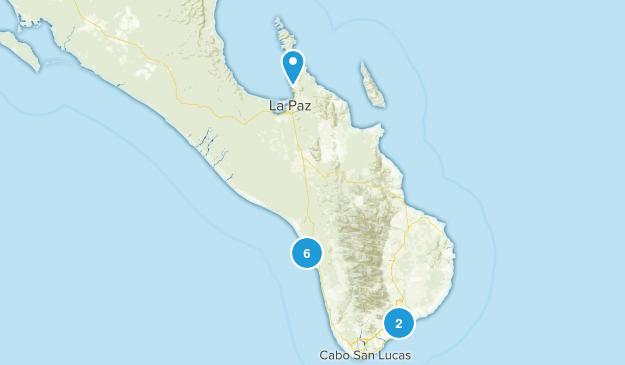 Baja California Sur, Mexico Dog Friendly Map