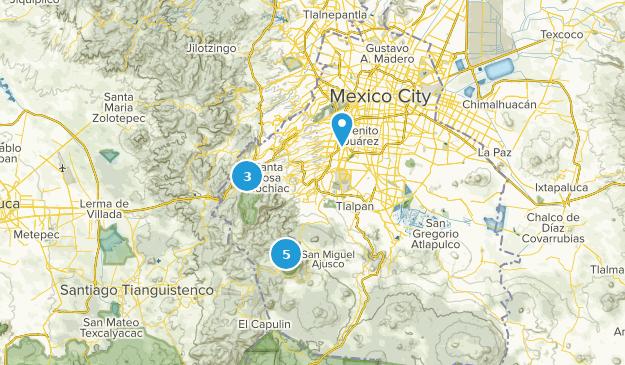 Distrito Federal, Mexico Views Map