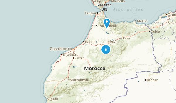 Marrakech - Tensift - Al Haouz, Morocco Dog Friendly Map