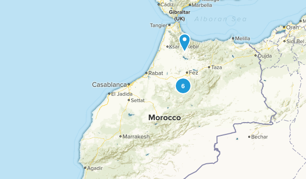 Marrakech - Tensift - Al Haouz, Morocco Dog Friendly Map