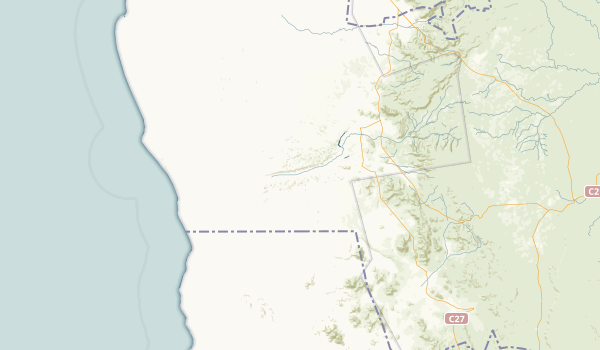 Hardap, Namibia Parks Map