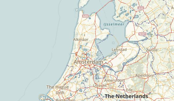Noord-Holland, Netherlands Parks Map