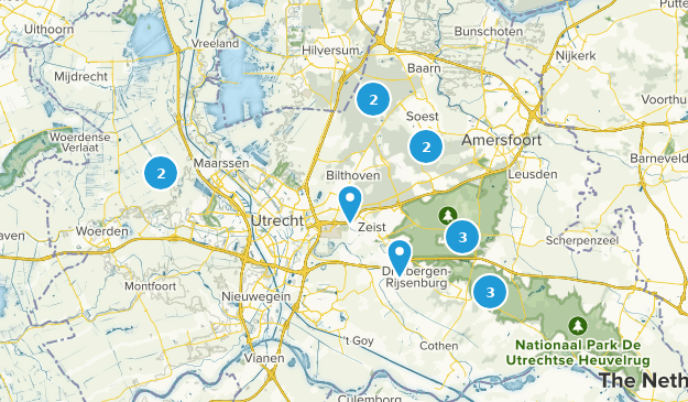 Utrecht, Netherlands Nature Trips Map