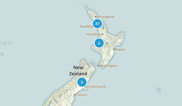 Auckland Region, New Zealand Birding Map
