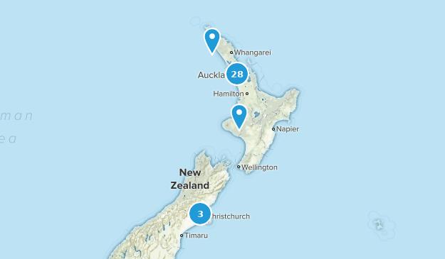Aukland, New Zealand Kid Friendly Map