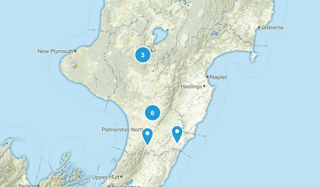 Manawatu-Wanganui Region, New Zealand Kid Friendly Map
