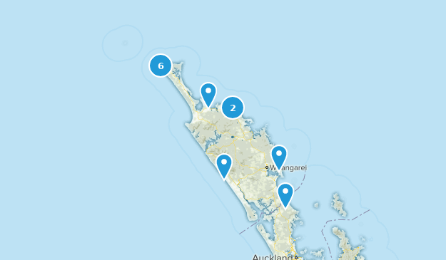 Northland, New Zealand Birding Map