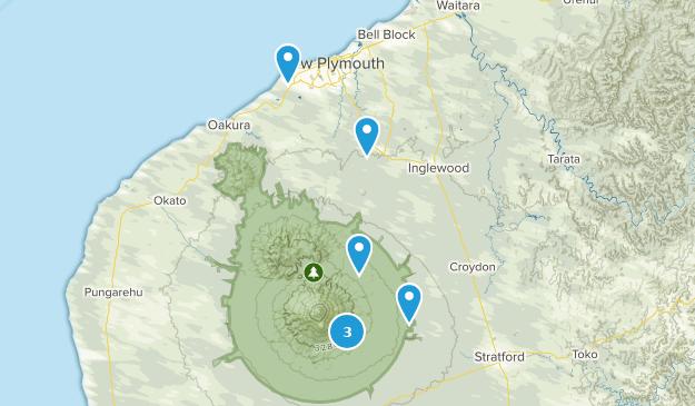 Taranaki Region, New Zealand Kid Friendly Map