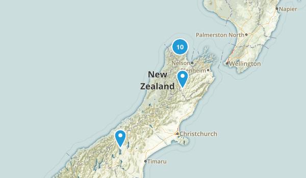 Tasman Region, New Zealand Kid Friendly Map