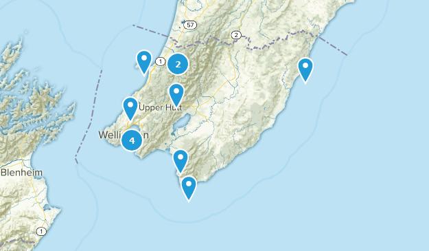 Wellington, New Zealand Kid Friendly Map