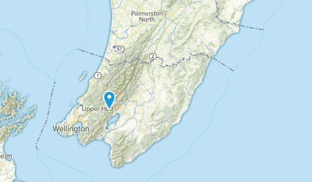 Wellington Region, New Zealand Local Parks Map