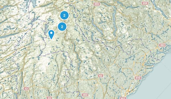 Aust-Agder, Norway Walking Map