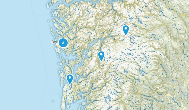 Hordaland, Norway Nature Trips Map