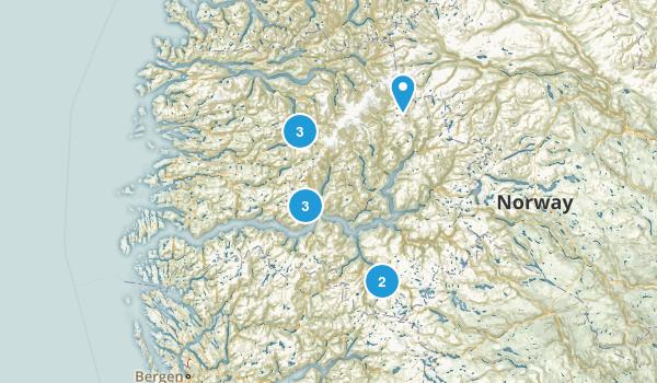 Sogn og Fjordane, Norway Views Map