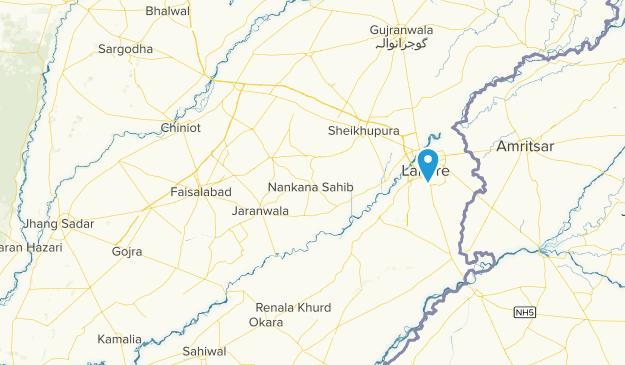 Punjab, Pakistan Local Parks Map