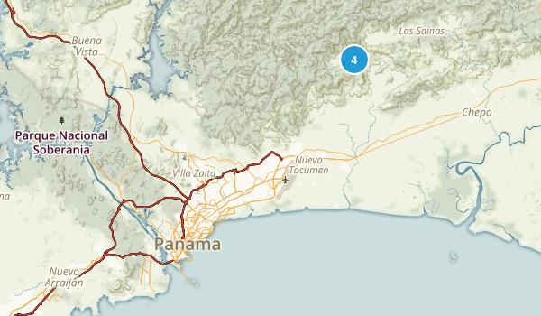 Panama, Panama Parks Map