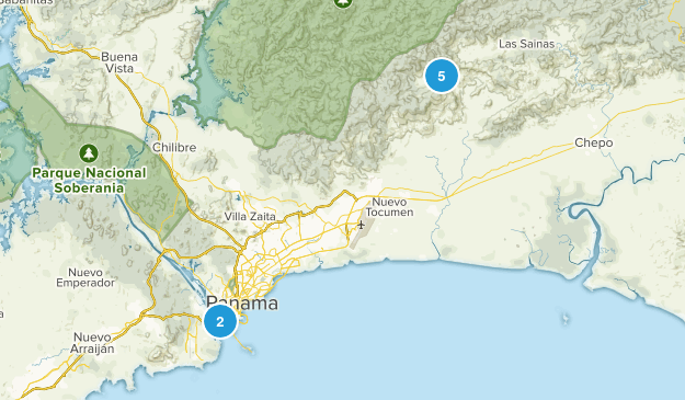 Panama, Panama Views Map