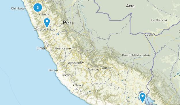 Ancash, Peru Walking Map