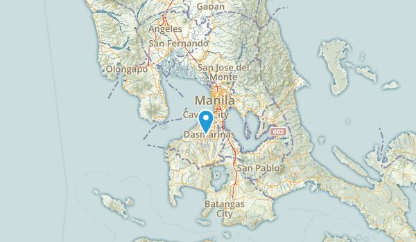 Cavite, Philippines Parks Map