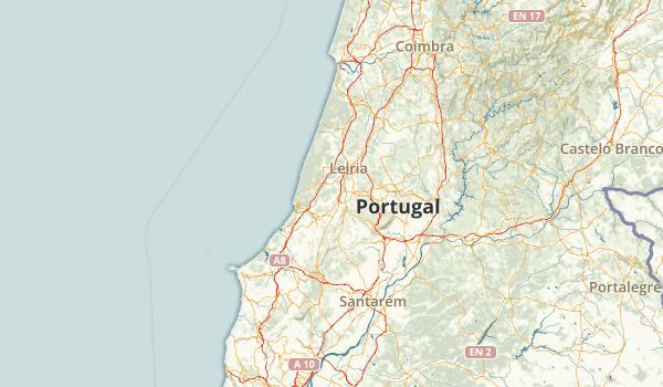 Leiria, Portugal Parks Map